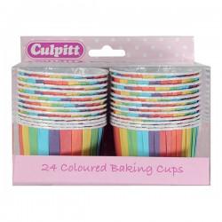 Rainbow, 24 st muffinskoppar