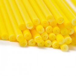 Klubbpinnar 15 cm, 20 st - gul