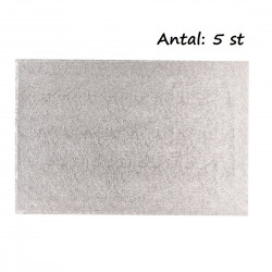 Rektangel, silver 40,6 X 50,8 cm (5 st)