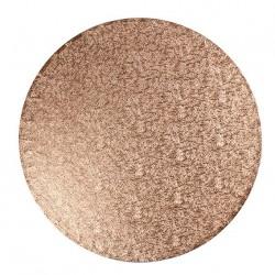 Copper, rund tårtbricka (ca 30 cm)