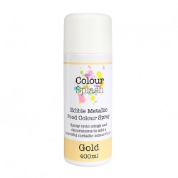 Metallic Food Spray, guld-400 ml (CS)