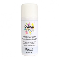 Metallic Food Spray, pearl-400 ml (CS)