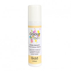 Metallic Food Spray, guld-100 ml (CS)