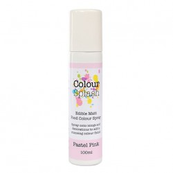 Metallic Food Spray, pastel pink