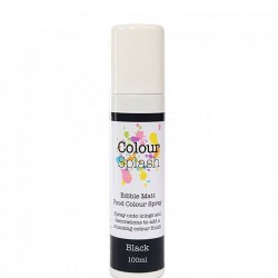 Metallic Food Spray, black