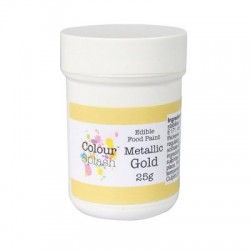 Metallic Gold, food paint (CS)