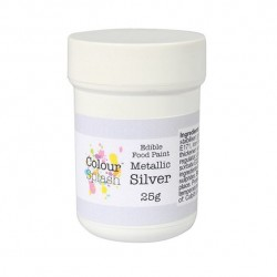 Silver, food paint (CS)
