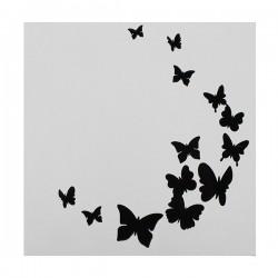 Butterflies, stencil
