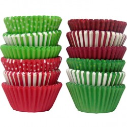 Red and Green, 300 st små muffinsformar