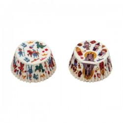 Riddare och Prinsessor, 36 st muffinsformar