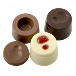 Classical, chokladform i hård plast