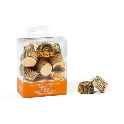 Guld, 180 st små muffinsformar