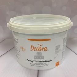 Sugarpaste, 5 kg classic white (Decora)