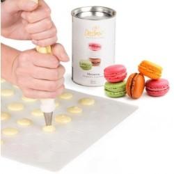Matta till macarons, silikon (Decora)
