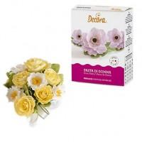 Flowerpaste, vit 200g (De)