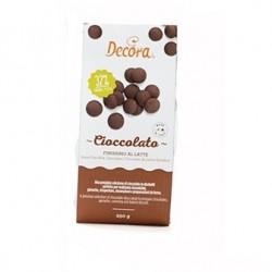 Chokladpellets (ljusbrun), 250g