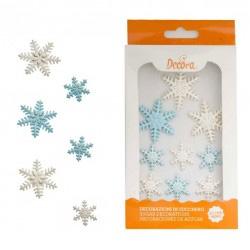 Sugar Snowflakes, ätbara dekorationer
