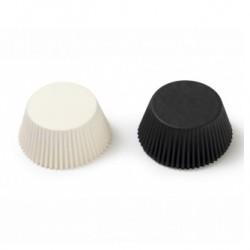 Black and White, 75 st muffinsformar