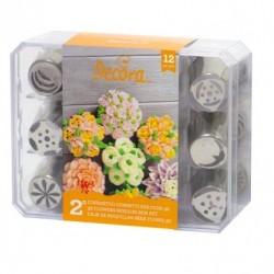 Easy Piped Flowers, tyllpaket 2