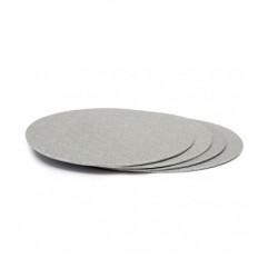 Tårtbricka - Silver, ca 36 cm