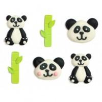 BF 20200430 - Panda, ätbara dekorationer