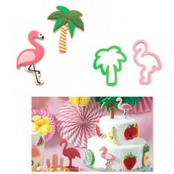 Tropical, 2 st utstickare (De)