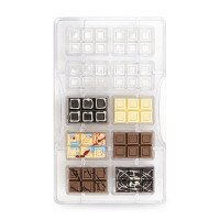 Chokladkakor, form (hård plast)