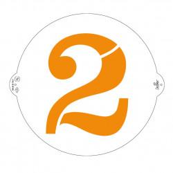 2, schablon