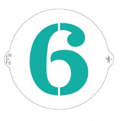 6 och 9, schablon