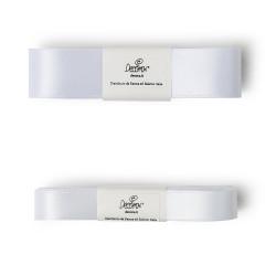 White, kantband - höjd 1,5 cm (metervara)