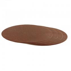 Tårtbricka - Brun, ca 25 cm