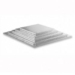 Kvadrat, silver 55 cm