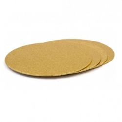 Tårtbricka - Guld, ca 28 cm