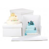 Tårtkartong, ca 40*40*40 cm (5 st)