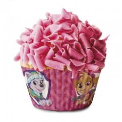 Paw Patrol, 50 st rosa muffinsformar
