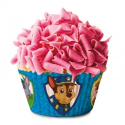 Paw Patrol, 50 st blåa muffinsformar
