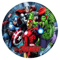 Avengers, 8 st tallrikar