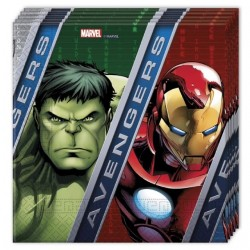 Avengers, 20 st servetter
