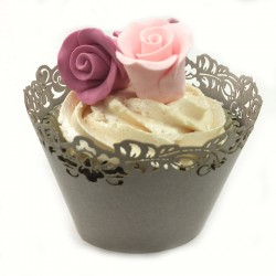 Lace Edge, cupcake wraps