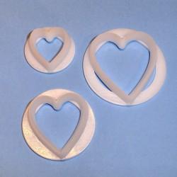 Hearts (3 st), utstickare (FMM)