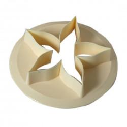 Foderblad till rosor,  utstickare (7 cm - FMM)