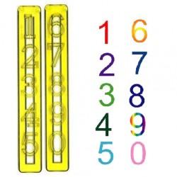 Siffror, utstickare