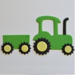 Traktor, utstickare (FMM)