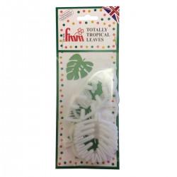 Tropiska blad, 4 st utstickare (FMM)
