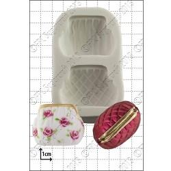 Handväska i 3D, silikonform