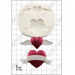 Valentine Hearts, silikonform