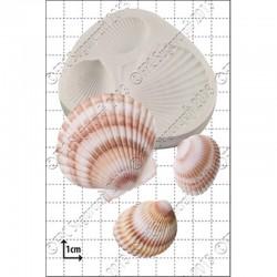 Snäckor, silikonform (large)
