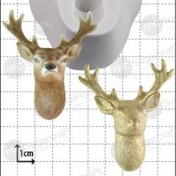Hjort, silikonform (FPC)
