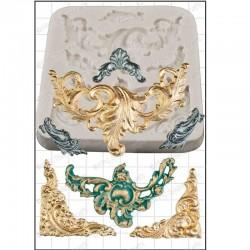 Baroque Scrolls, silikonform