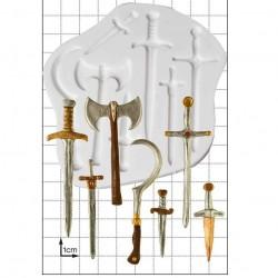 Svärd och Vapen, silikonform